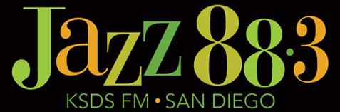 """KSDS """"Jazz 88.3"""" San Diego, CA Logo"""